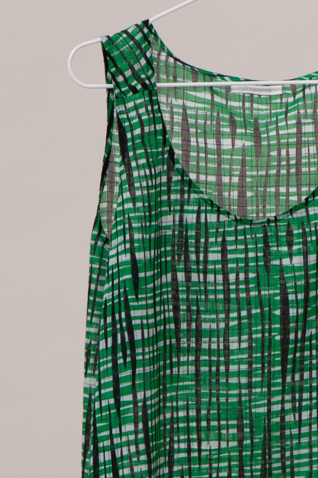 PACIFIQUE RETRO GREEN TOP