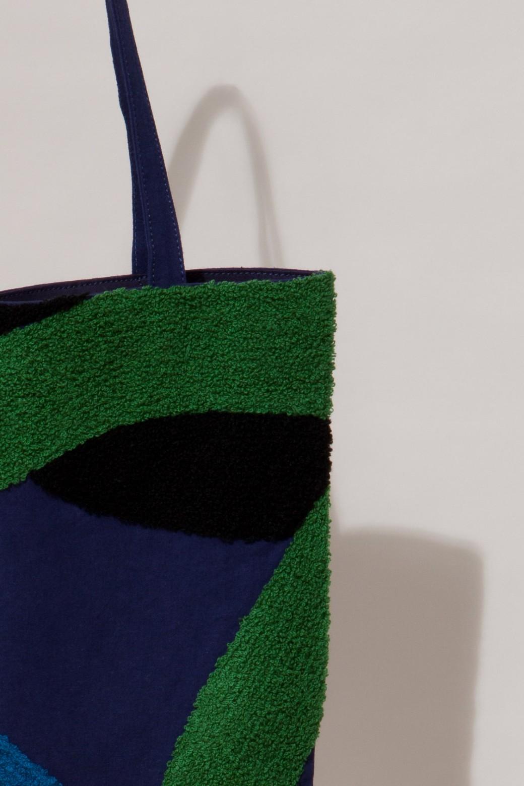 PRELUDE BLUE GREEN TOTE BAG