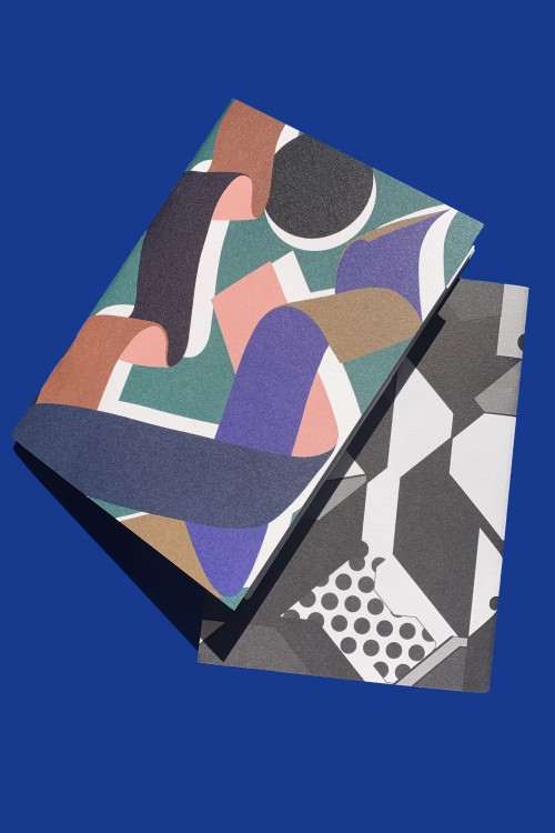 ZIG ZAG RUBAN MOUSSE NOTEBOOK