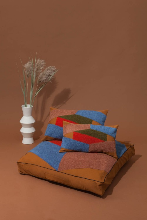 ODILE OCHER CUSHION COVER