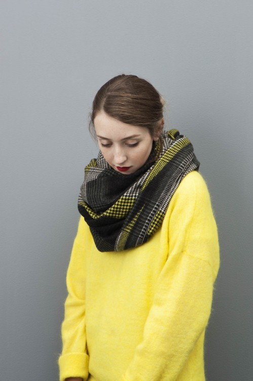 REFLET LIME SCARF