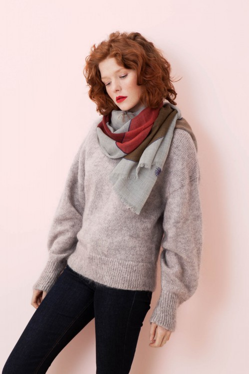 PARADE BLUSH SCARF