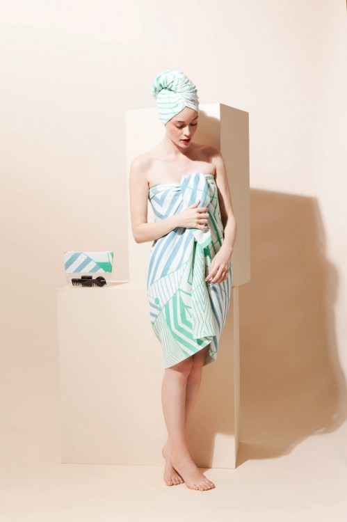 TOWEL SET POEME JADE