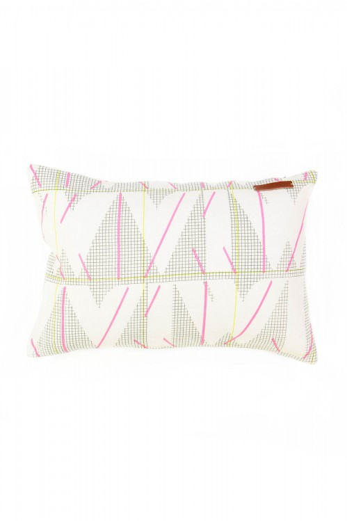 MIAMI FLUO PINK CUSHION COVER