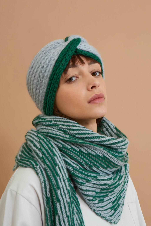 Ava Green Headband