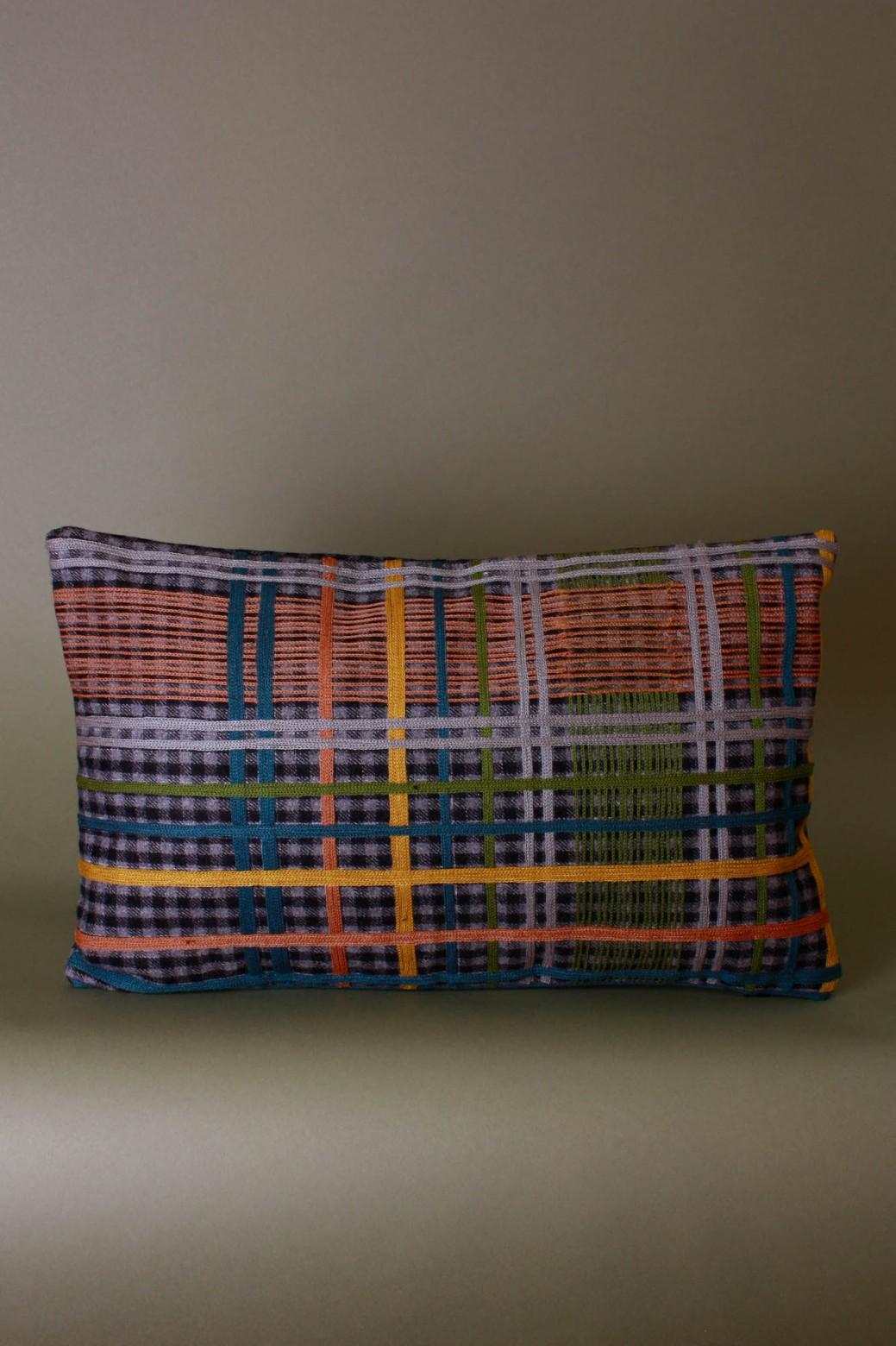 Eddy Grey Cushion Cover