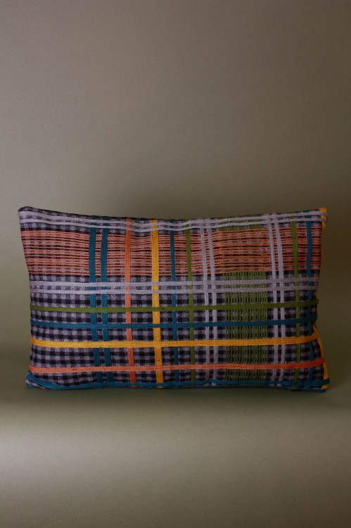 Eddy Grey Cushion Cover