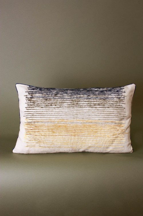 Kumo Mustard Cushion Cover