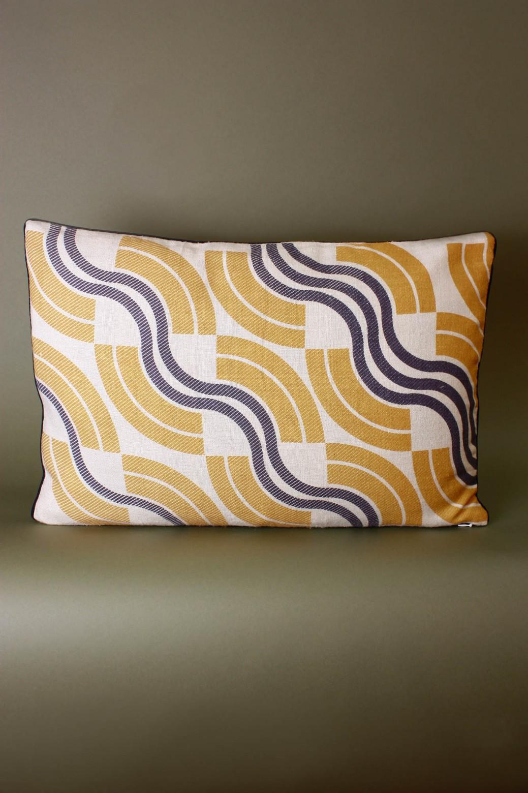 Module Mustard Cushion Cover