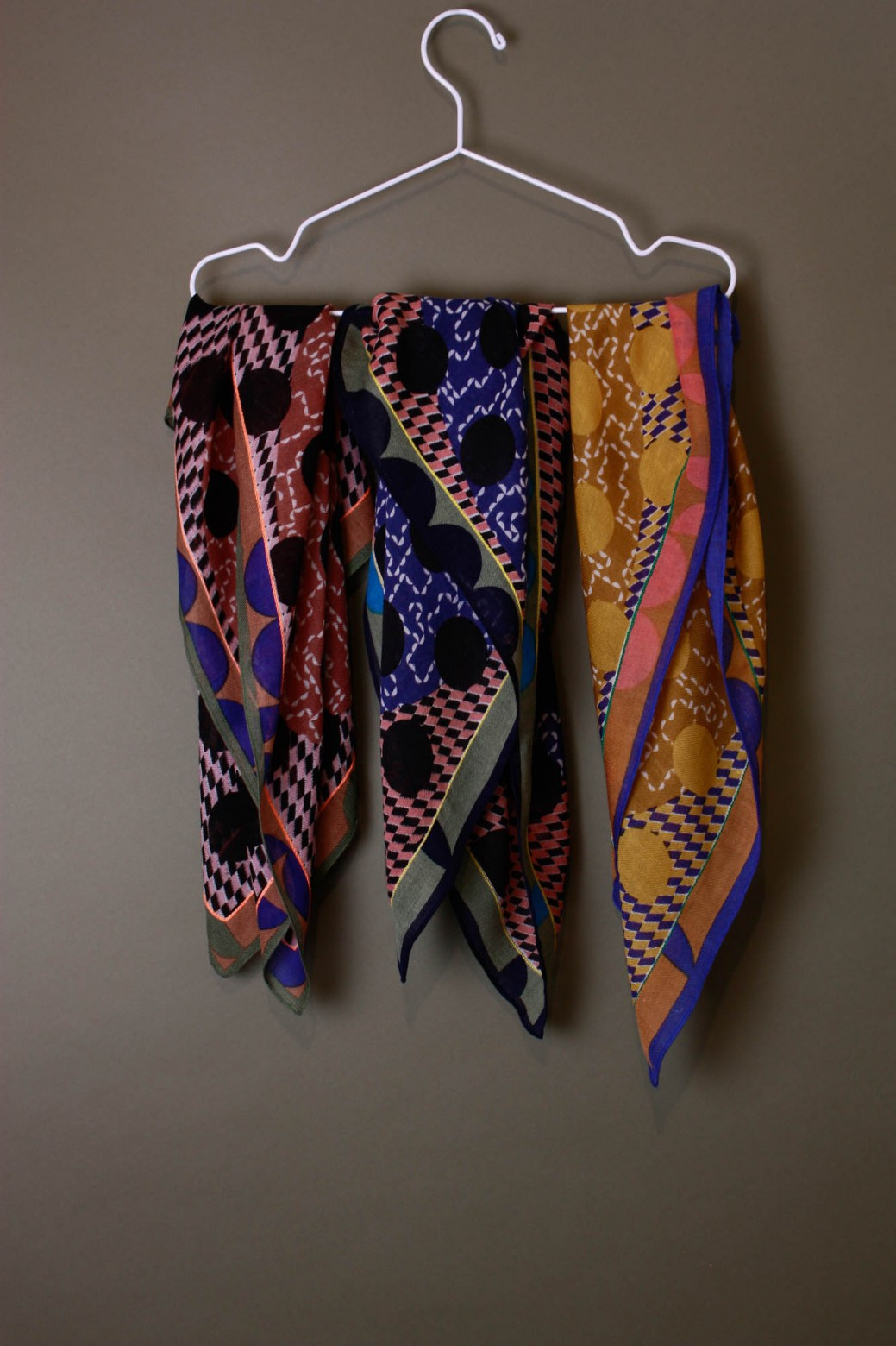Partition Mustard Scarf