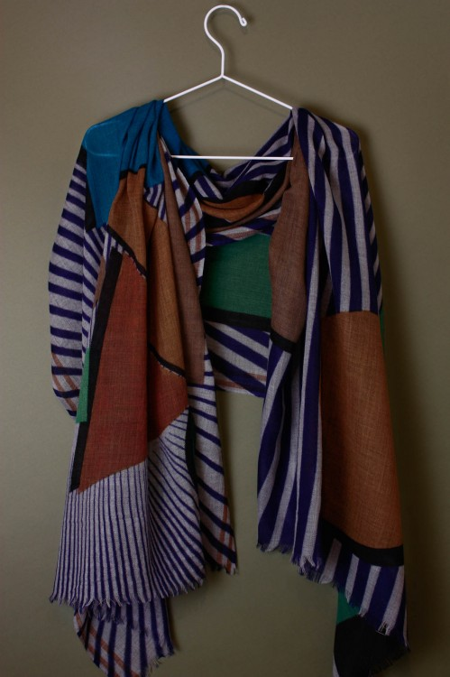 Candy Blue Scarf