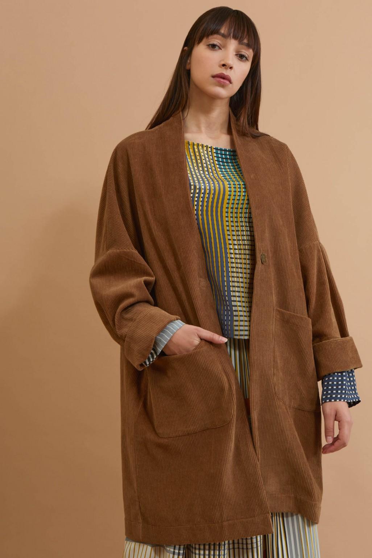 Aurore Khaki Coat