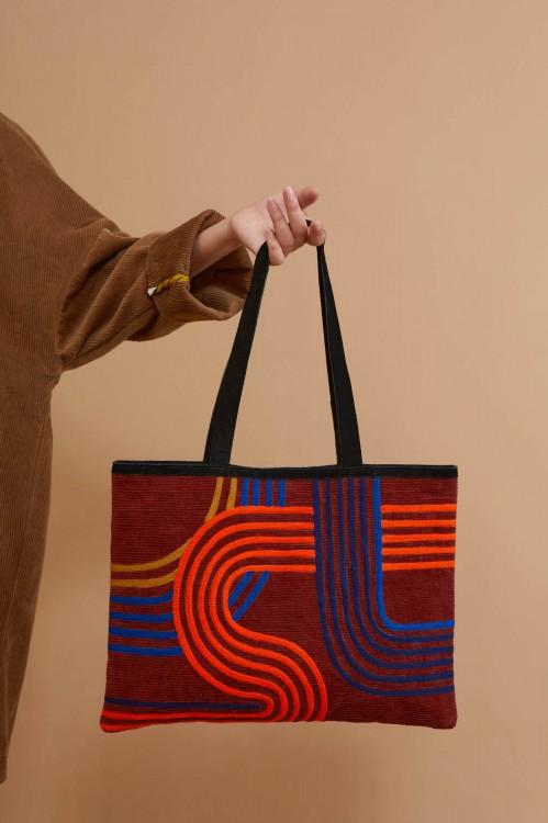 Zen Mahogany Bag