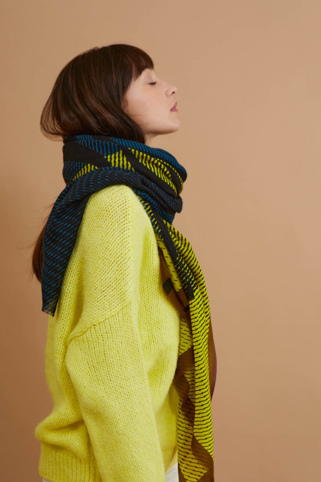 Moon Lime Scarf