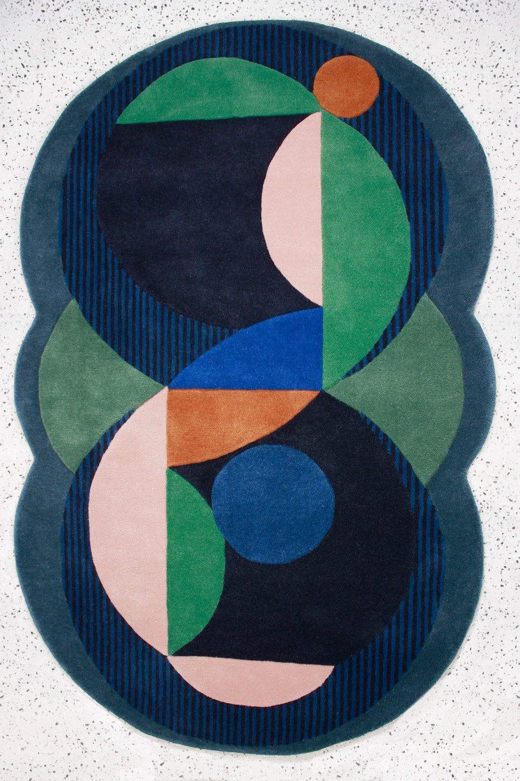 Coquillage Blue Rug