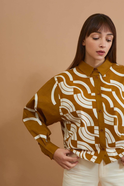 Rosalie Caramel Shirt