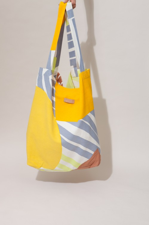 Bag XXL ODYSSEY Ocre Bleu
