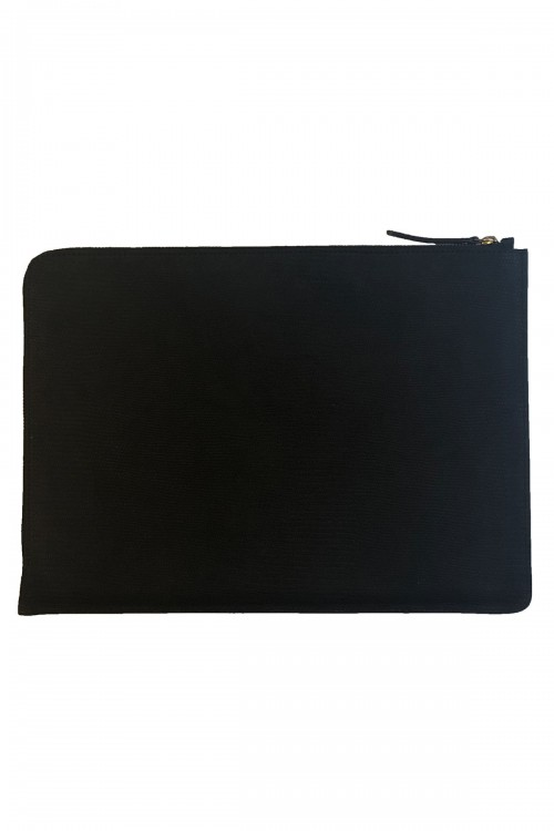 ROSALIE BLACK LAPTOP SLEEVE