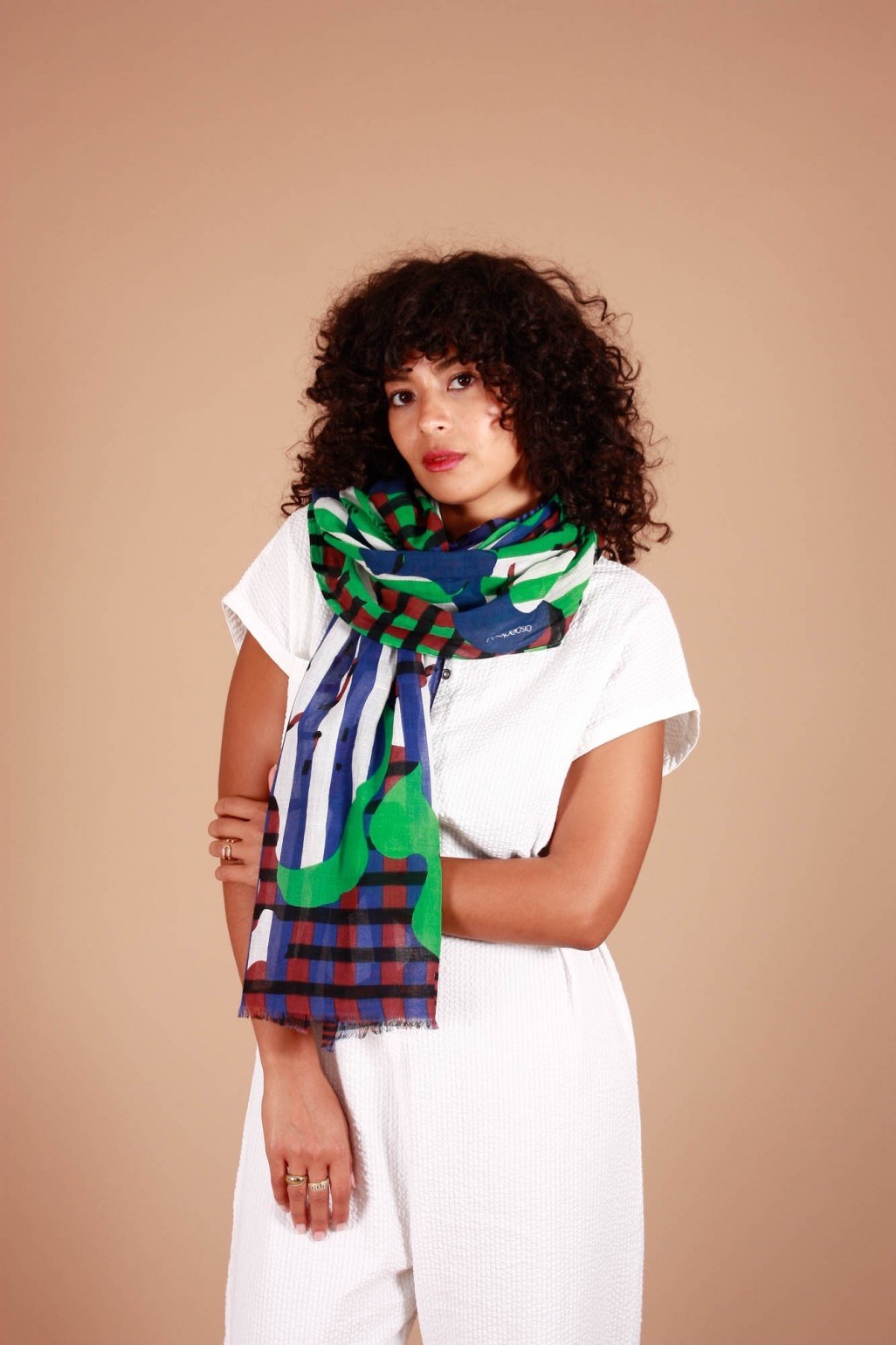 Champetre Green Blue Scarf