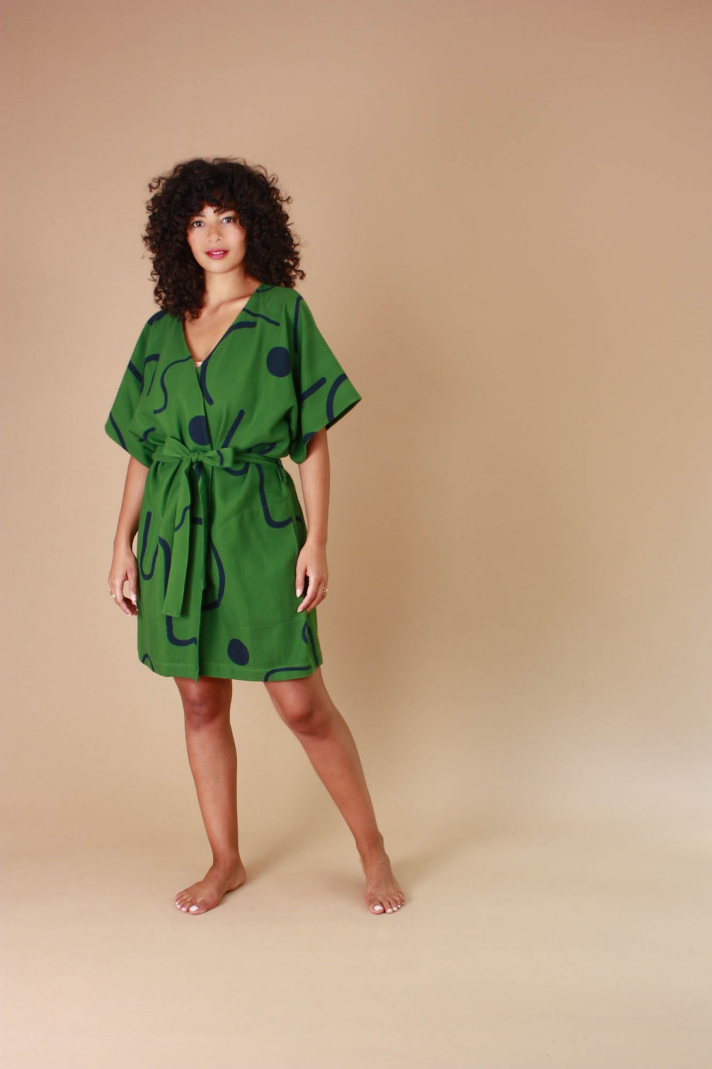 Kimono Dune Vert