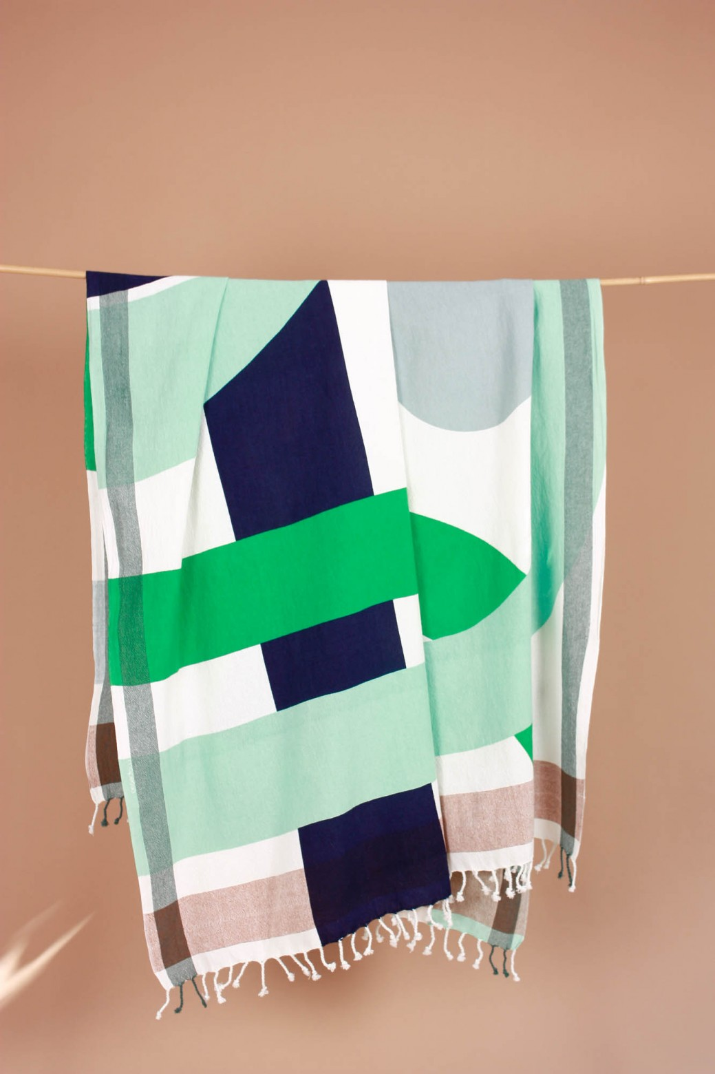 Vision Jade Beach Towel