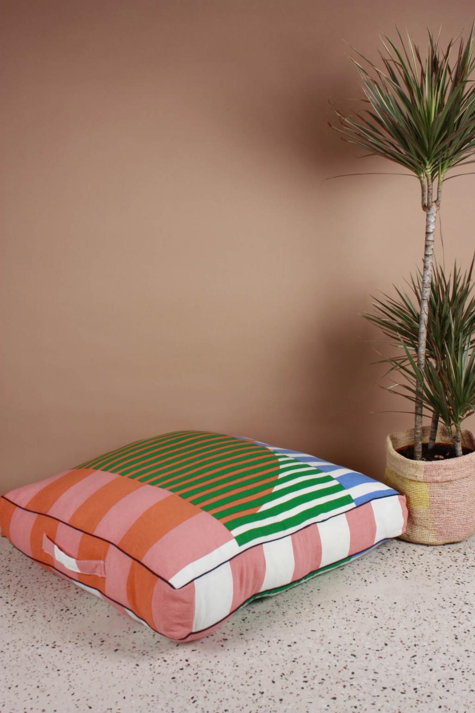 Sol Fruity Floor Cushion Cover