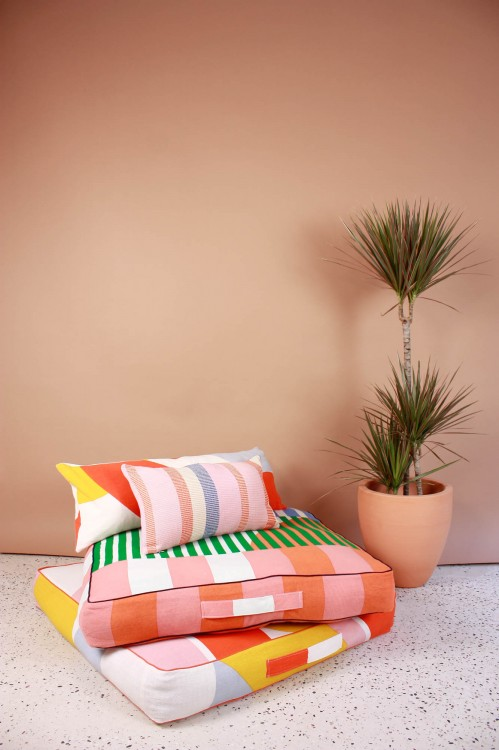 Sol Fruity Floor Cushion Cover