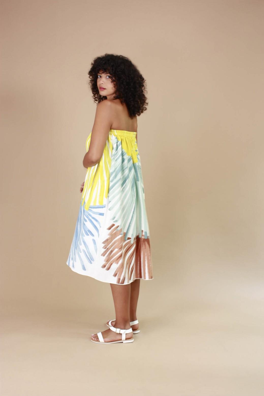 Dent de Lion Romeo Lime Skirt