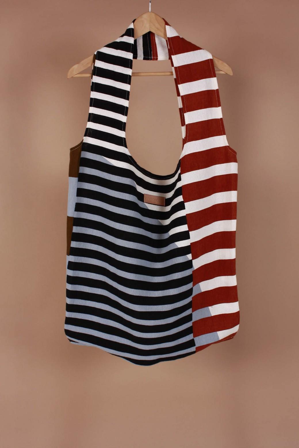 Sol Khaki Flat Bag L