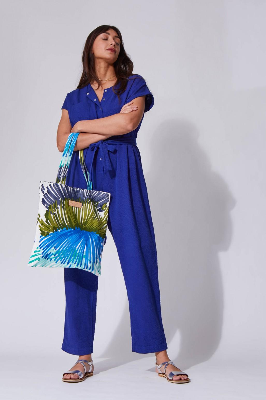Dent de Lion Blue Tote bag