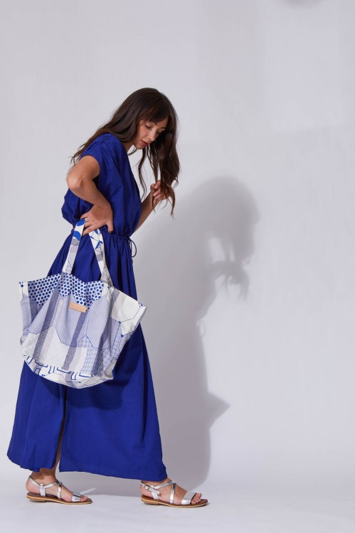 Miroir Blue Soft Bag