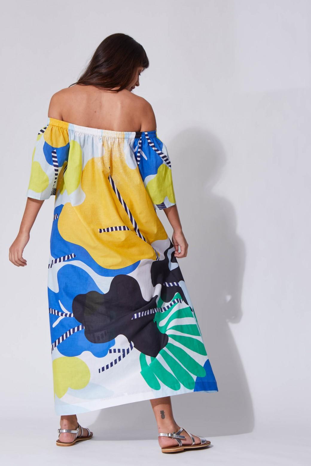 Palao Flore Citrus Dress