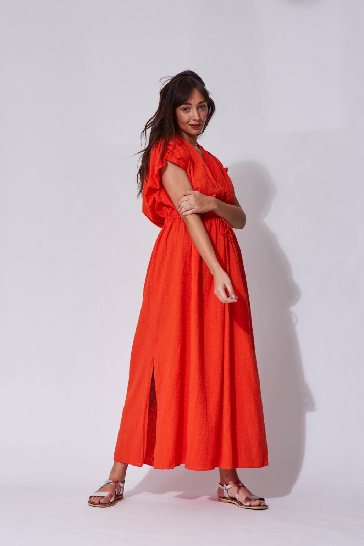 Greta Poppy Dress