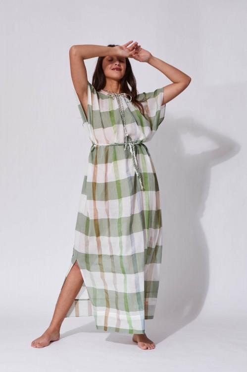 Graffi Olive Dress