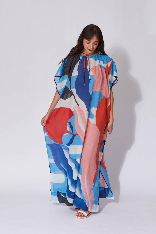 Florilege Blue Dress