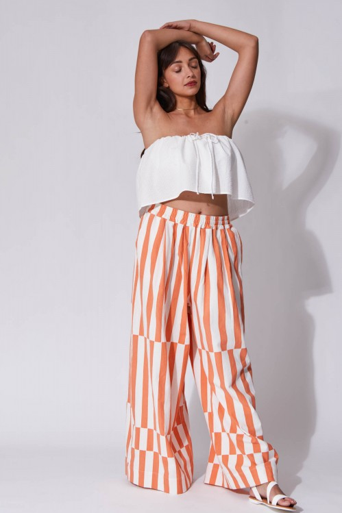 Penelope Peach Pants