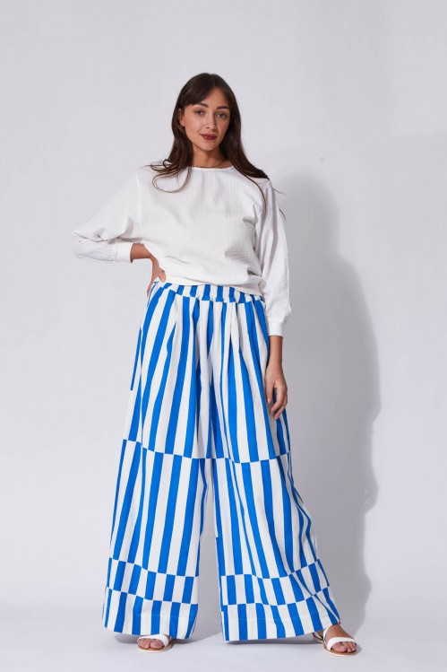 Pantalon Penelope Bleu