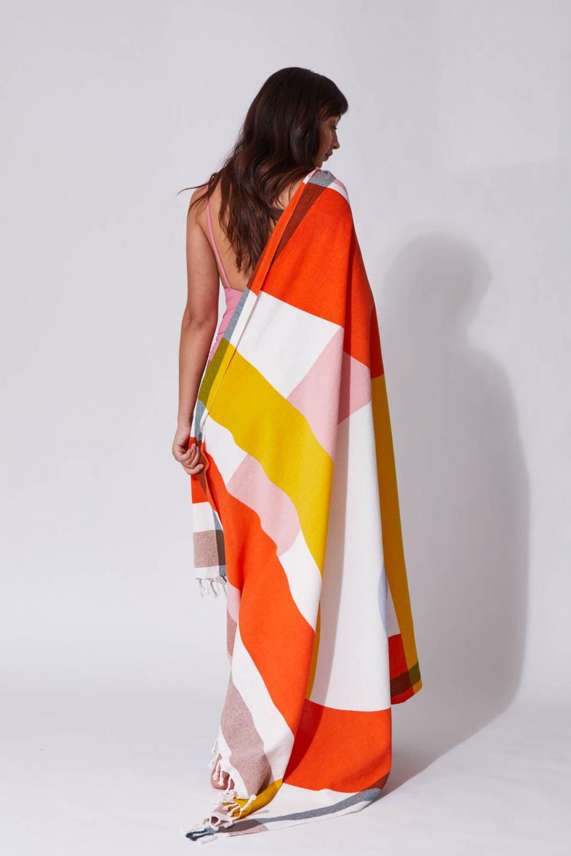 Fouta Vision Orange