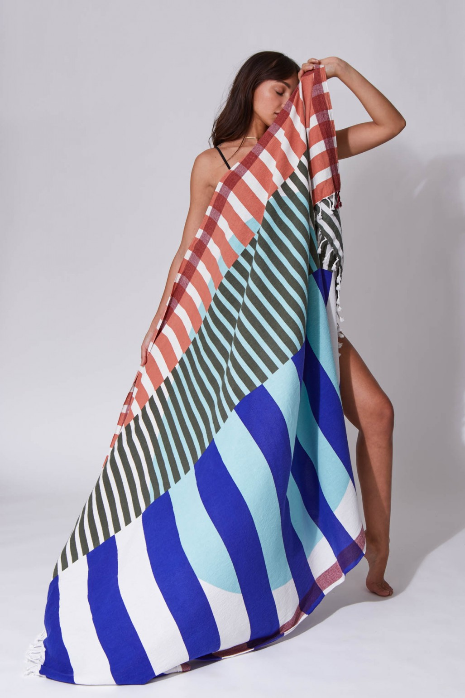 Sol Ultra Violet Beach Towel