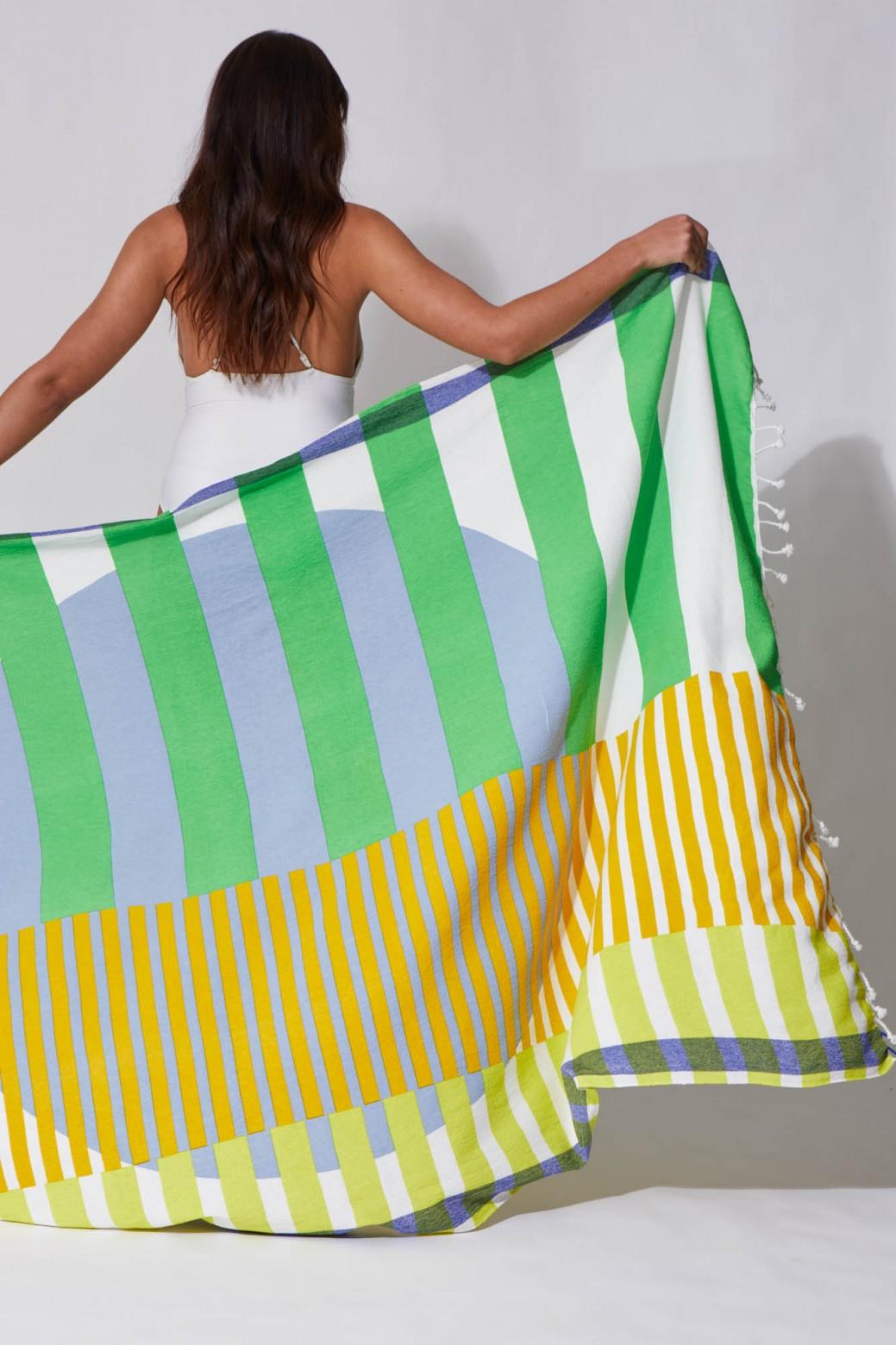 Sol Acid Beach Towel