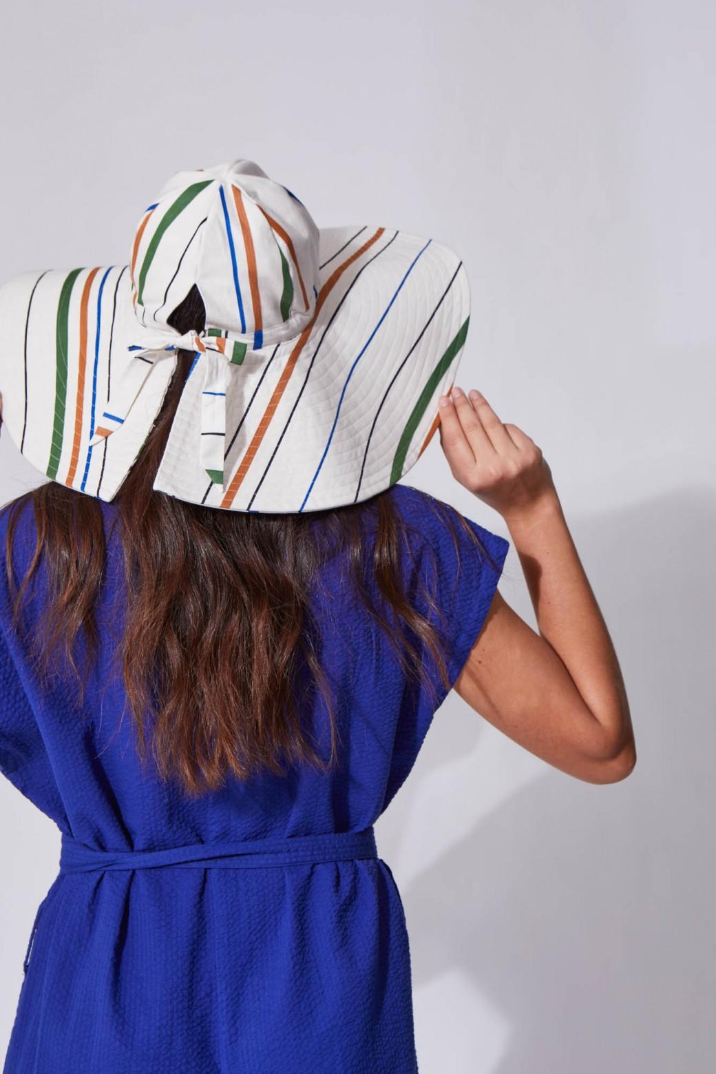 Mila White Floppy Hat