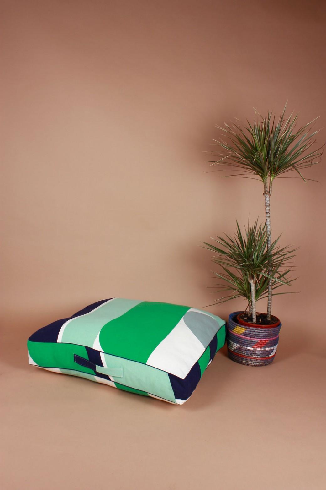 Vision Jade Floor Cushion Cover