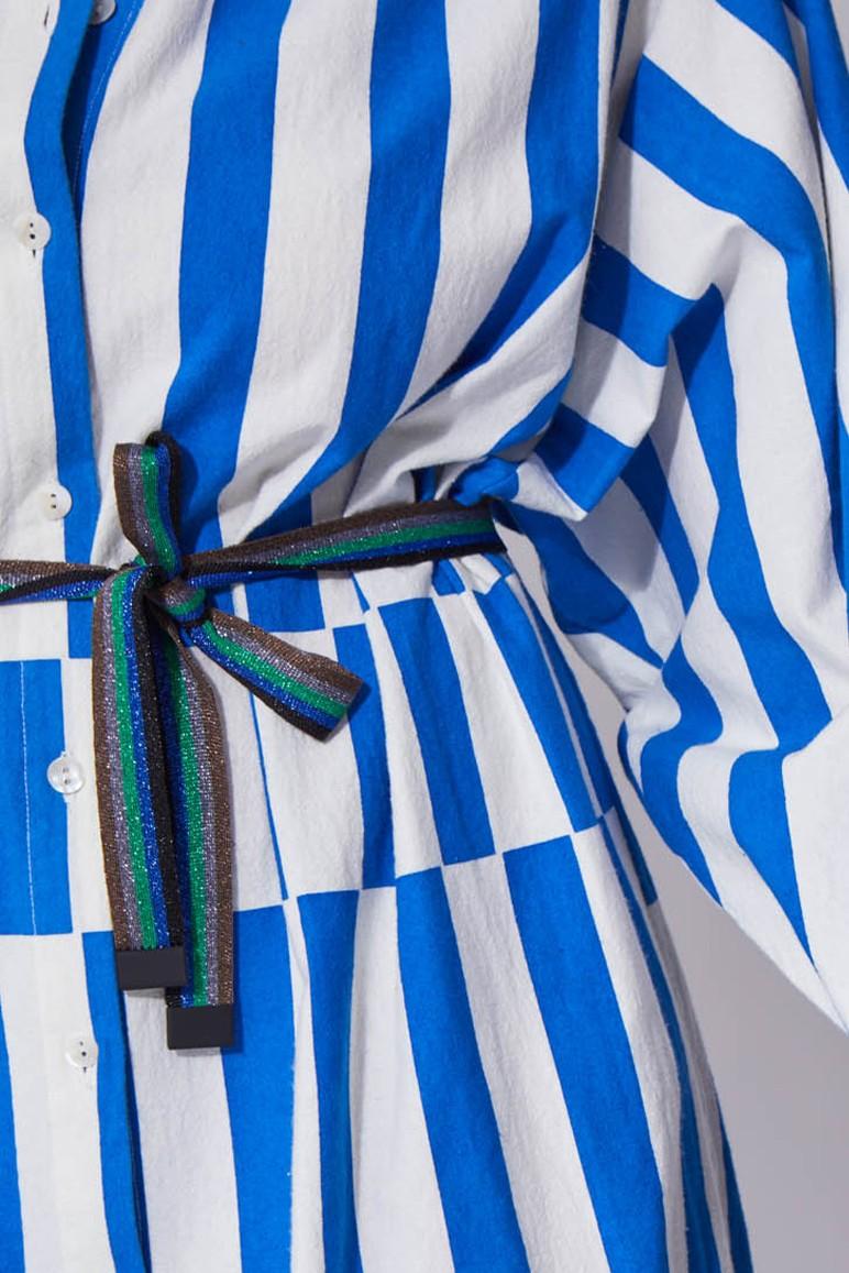 Odile Shiny Blue Belt