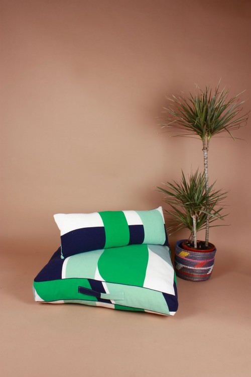 Vision Jade Floor Cushion Cover