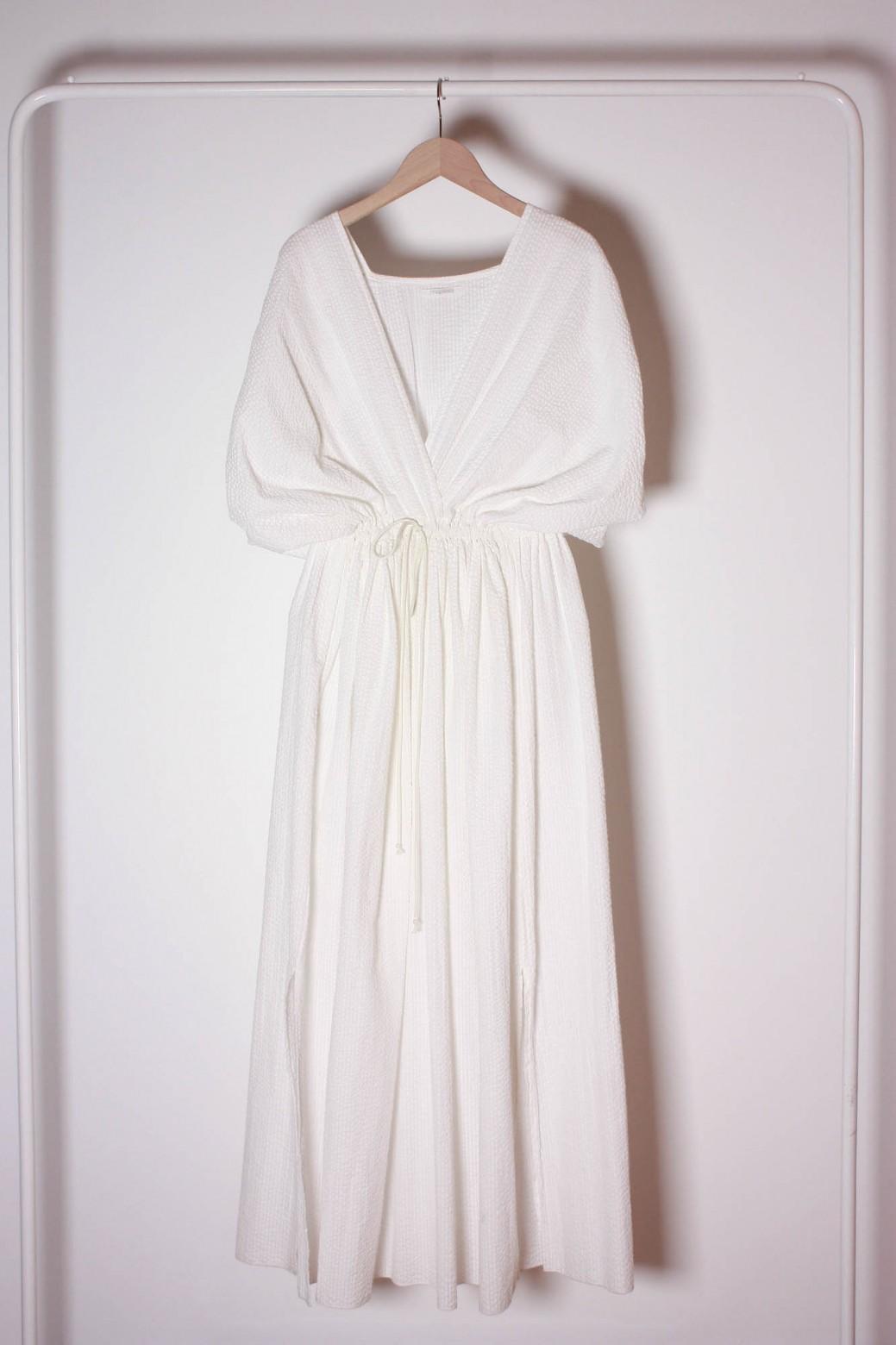 Greta White Dress