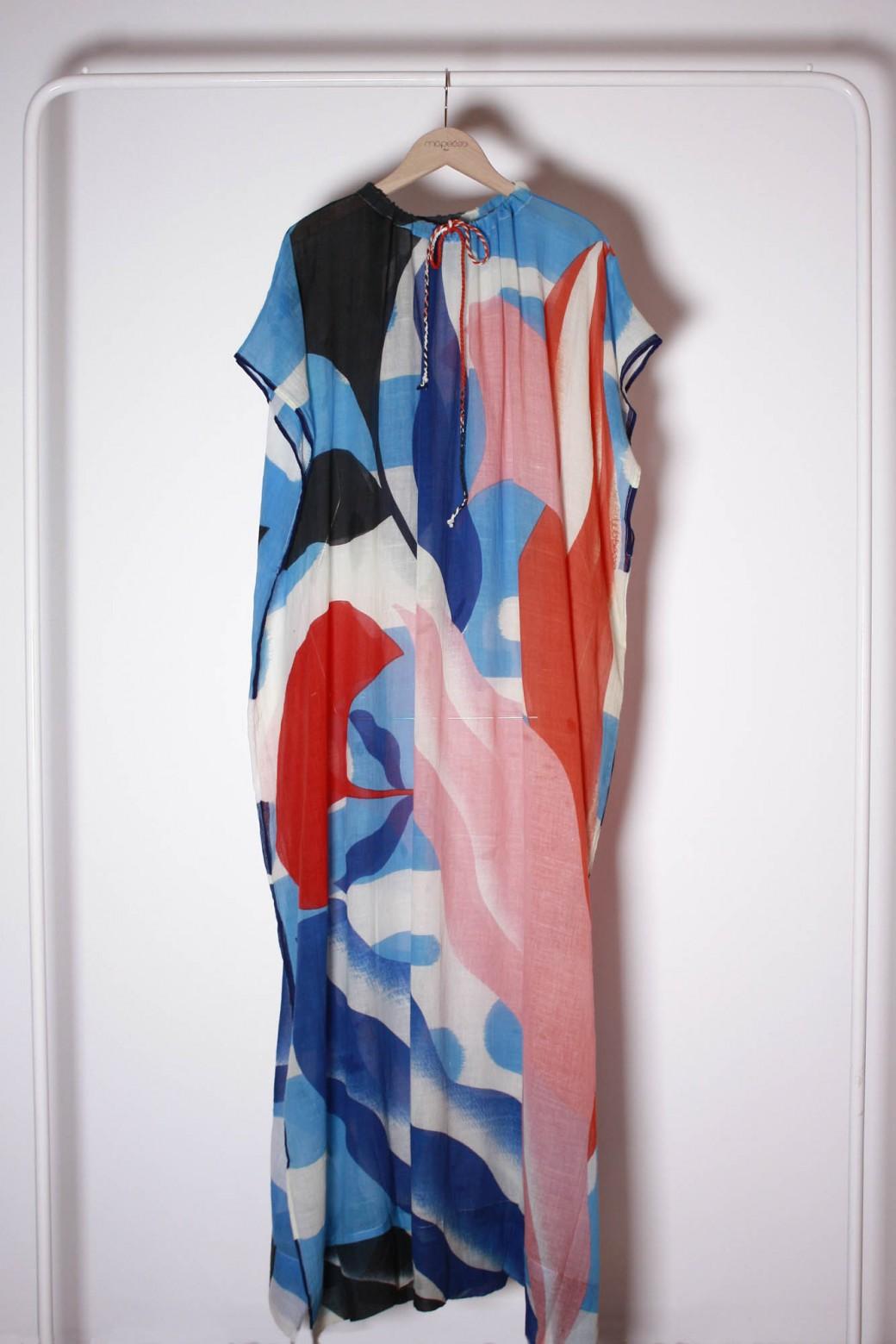 Robe Florilege Bleu