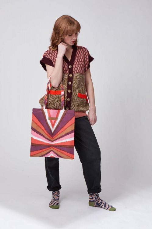 Tote Bag Prisma Rouge