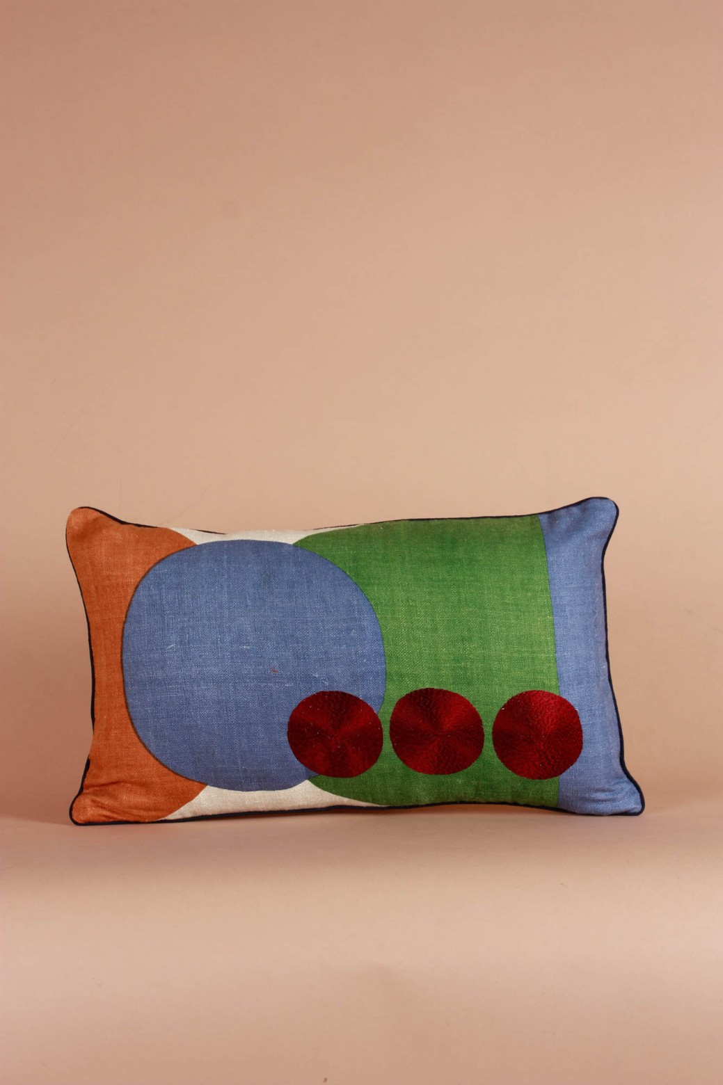 Coussin Totem Soufre