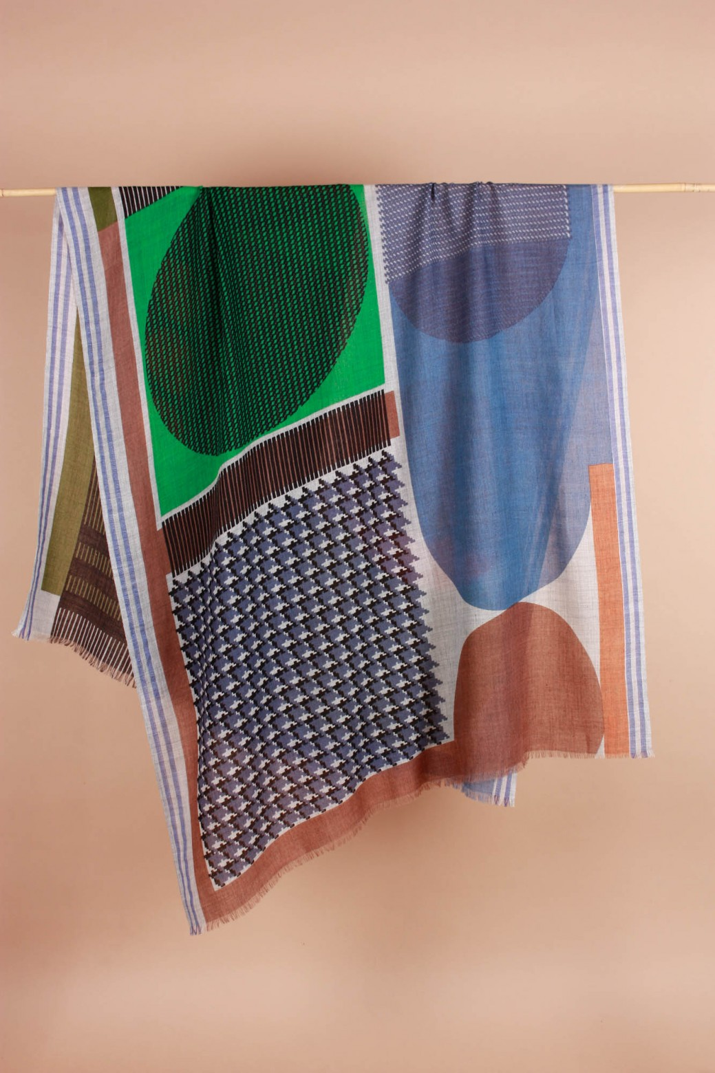 Foulard Abstract Mousse