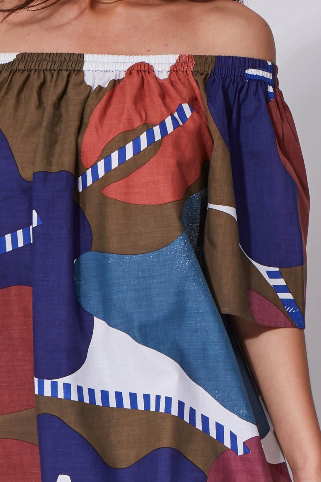 Palao Flore Brown Dress
